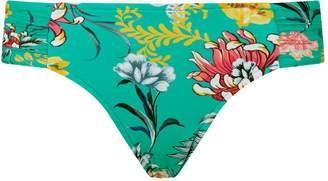 Seafolly Water Garden Ruched Bikini Bottoms