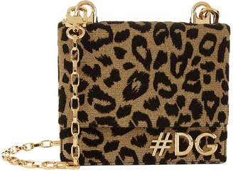 Dolce & Gabbana Girls Leopard Cross Body Bag