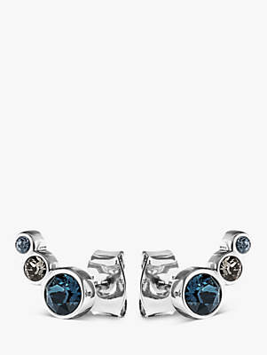 Dyrberg/Kern Lini Coloured Swarovski Small Stud Earrings