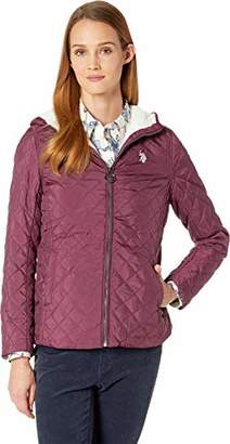 U.S. Polo Assn. Women's Sherpa Lined Quilted Jacket