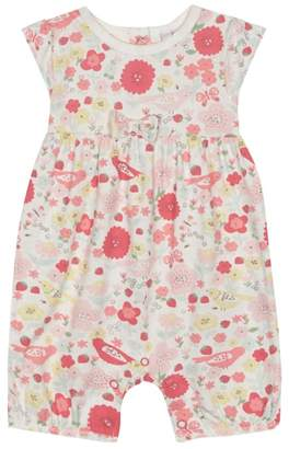 Bluezoo BLUE ZOO Baby Girls' Multi-Coloured Floral Print Romper