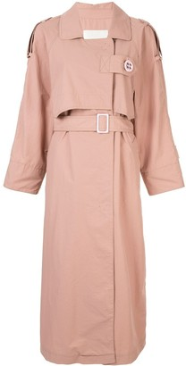 Walk Of Shame belted trench coat
