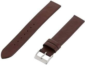 Momentum ZC-16ZEN DK BROWN 16mm Zen Leather Calfskin Brown Watch Strap