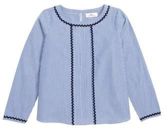 Vineyard Vines Rickrack Stripe Top (Toddler Girls, Little Girls & Big Girls)