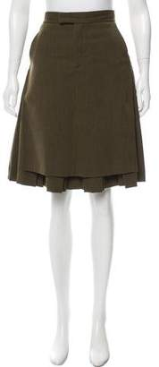 Creatures of the Wind Pleated Wool Skirt