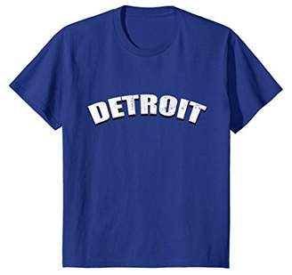 Detroit Town T Shirt Retro 80s 70s City Throwback Gift Love