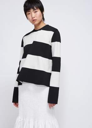 Calvin Klein Twisted Striped Knit