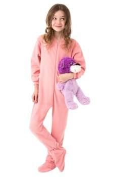 Big Feet PJs Junior Fleece Footed Pajamas