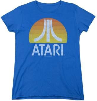 Atari Womens Sunrise Eroded T-Shirt
