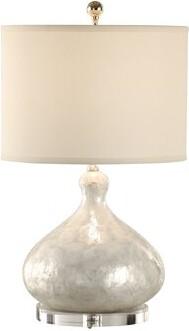 """Wildwood Capiz Shell Bottle 24"""" Table Lamp Wildwood"""