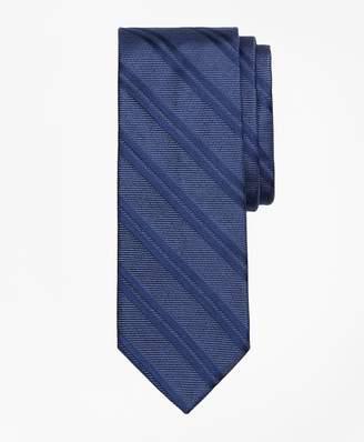 Brooks Brothers Heathered Double Stripe Tie
