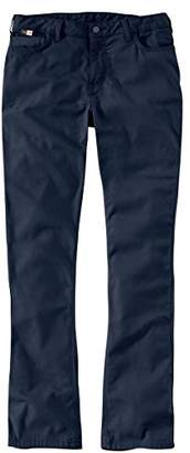 Carhartt Flame Resistant Womens Rugged Flex Canvas Pant