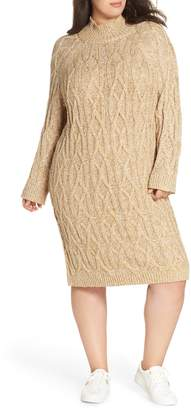 BP Cable Knit Sweater Dress