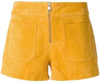 zip front shorts - Yellow & Orange Fleur du Mal Marketable Cheap Online 1aLcDBQ
