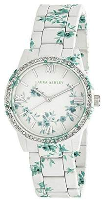 Laura Ashley Women's LA31018I Analog Display Japanese Quartz White Watch $59.99 thestylecure.com