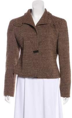 Valentino Tweed Structured Jacket