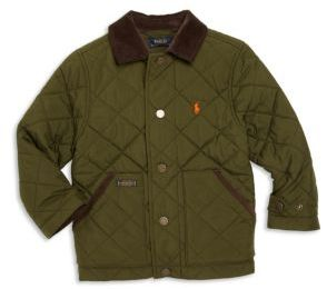 Ralph Lauren Toddler's & Little Boy's Quilted Jacket $115 thestylecure.com