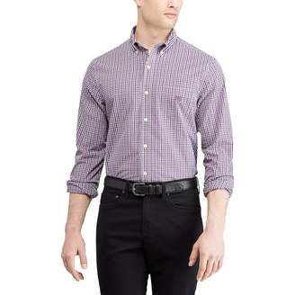 Chaps Men's Slim-Fit Easy-Care Stretch Button-Down Shirt