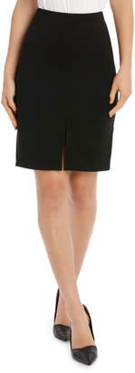 Miss Shop New York Pencil Skirt With Front Split