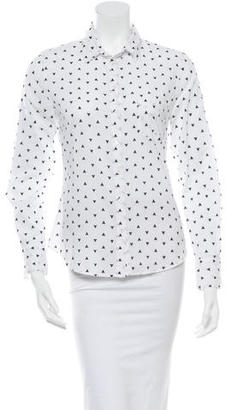 Boy. by Band of Outsiders Printed Button-Up Top $45 thestylecure.com