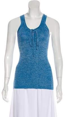 Diane von Furstenberg Penny Rib Knit Tank Top