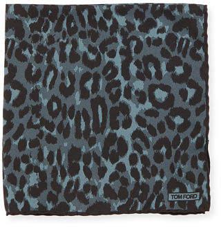 Tom Ford Jaguar Silk Twill Pocket Square
