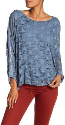 Tempo Paris Heart Mesh Blouse