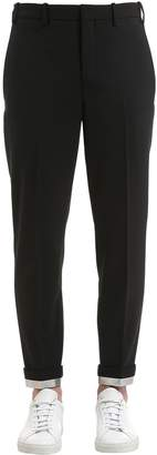 Neil Barrett 16.5cm Stretch Wool Gabardine Pants