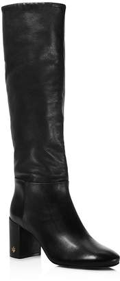 Tory Burch Women's Brooke Slouchy Leather Tall Boots