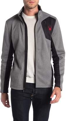 Spyder Raider Full Zip Stand Collar Jacket