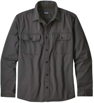 Patagonia Men's Long-Sleeved Four Canyons Twill Shirt