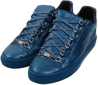 Balenciaga Leather lace ups