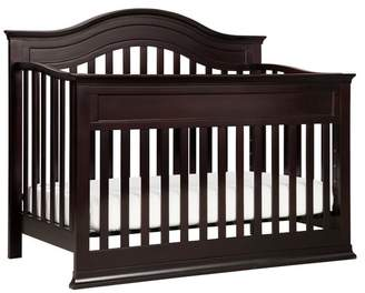 DaVinci Brook 4-In-1 Convertible Crib With Toddler Bed Conversion Kit, Dark Java