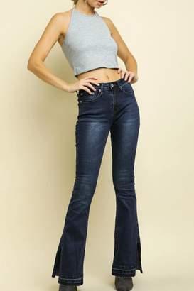 Umgee USA High-Waisted Flare Jeans