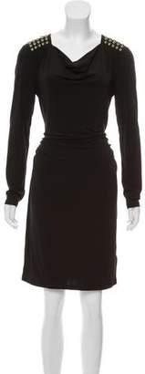 MICHAEL Michael Kors Embellished Cowl Neck Dress w/ Tags