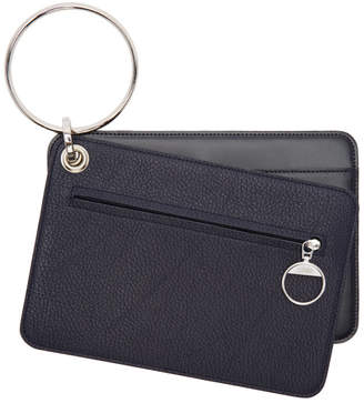 Maison Margiela Navy Keyring Wallet Set