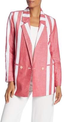 Badgley Mischka Stripe Blazer