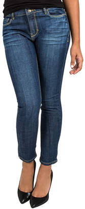 MISS HALLADAY Miss Halladay Cropped Stretch Midrise Jeans
