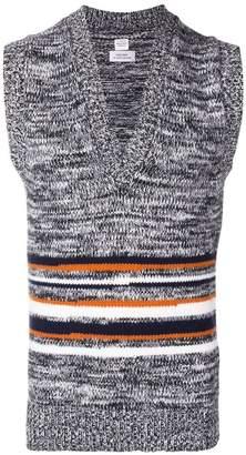 E. Tautz striped knit vest