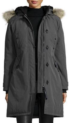 Canada Goose Kensington Fur-Hood Parka $900 thestylecure.com