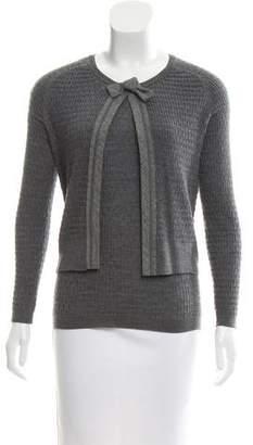Paule Ka Merino Wool Cardigan Set