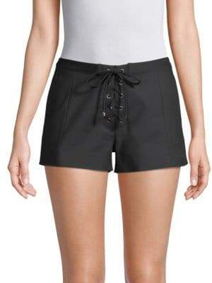 Ramy Brook Camden Lace-Up Shorts