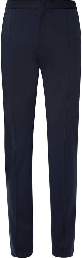 Stretch-Knit Trousers