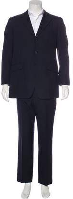 Prada Striped Wool Suit