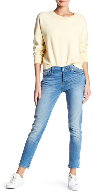 7 For All Mankind 7 For All Mankind The Josefina Skinny Boyfriend Jean