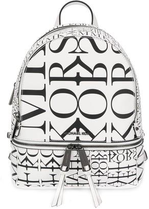 MICHAEL Michael Kors all-over logo backpack