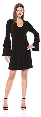 Karen Kane Women's Tiered Sleeve Taylor Dress