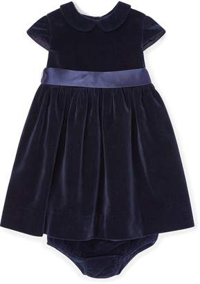 Ralph Lauren Velvet Dress & Bloomer