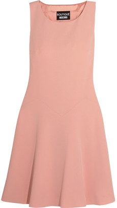 Boutique Moschino - Crepe Mini Dress - Pink $625 thestylecure.com