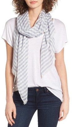 Women's Barbour Stripe Woven Scarf $45 thestylecure.com